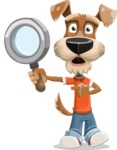 Dressed Dog Cartoon Vector Character AKA Sparky Jones - Search