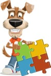 Sparky Jones - The Casual Dog Friend - Puzzle