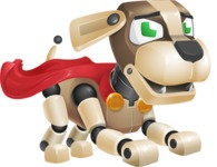 Barkey McRobot - Super Dog