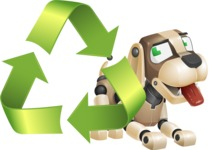 Barkey McRobot - Recycling