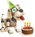 Barkey McRobot - Birthday