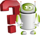 Home Assistant Robot Cartoon Vector Character AKA DAVE - Question