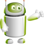 Home Assistant Robot Cartoon Vector Character AKA DAVE - Showcase