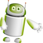 Home Assistant Robot Cartoon Vector Character AKA DAVE - Show