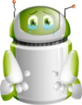 Home Assistant Robot Cartoon Vector Character AKA DAVE - Under Construction