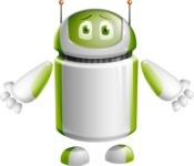 Home Assistant Robot Cartoon Vector Character AKA DAVE - Sorry