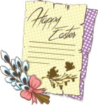 """Happy Easter"" Letter"