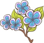 Easter Vectors - Mega Bundle - Branch With Flowers