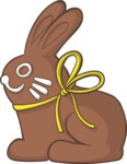 Easter Vectors - Mega Bundle - Chocolate Bunny