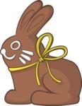 Easter Vectors - Mega Bundle - Chocolate Bunny
