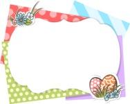 Easter Vectors - Mega Bundle - Colorful Easter Frame