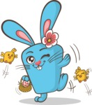 Easter Vectors - Mega Bundle - Cute Easter Bunny