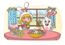 Easter Vectors - Mega Bundle - Easter at Home