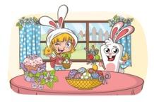 Easter Vectors - Mega Bundle - Easter at Home