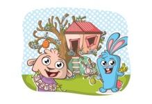 Easter Vectors - Mega Bundle - Easter Bunny and Sheep