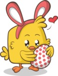 Easter Vectors - Mega Bundle - Easter Chick