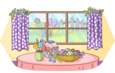 Easter Vectors - Mega Bundle - Easter Decoration at Home