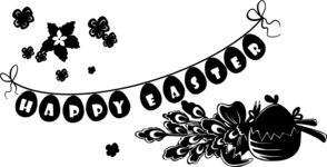 Easter Vectors - Mega Bundle - Easter Decoration Silhouettes