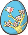 Easter Vectors - Mega Bundle - Easter Egg 11