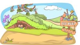 Easter Vectors - Mega Bundle - Easter Egg Hunt