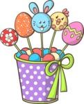 Easter Vectors - Mega Bundle - Easter Eggs Candies