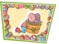 Easter Vectors - Mega Bundle - Easter Eggs Illustration