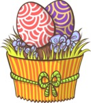 Easter Vectors - Mega Bundle - Easter Eggs Muffin