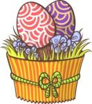 Easter Vectors - Mega Bundle - Easter Eggs Muffin