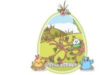Easter Vectors - Mega Bundle - Easter Illustration with Chicks