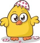 Easter Vectors - Mega Bundle - Enhatched Chick