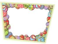Easter Vectors - Mega Bundle - Frame with Easter Eggs