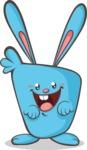 Easter Vectors - Mega Bundle - Happy Bunny