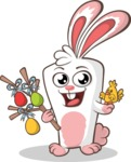 Easter Vectors - Mega Bundle - Happy Easter Bunny
