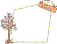 Easter Vectors - Mega Bundle - Happy Easter Frame