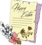 """Easter Vectors - Mega Bundle - """"Happy Easter"""" Letter"""