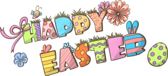 Easter Vectors - Mega Bundle - Happy Easter
