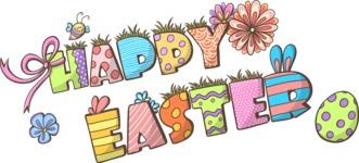 Easter Vectors - Mega Bundle - Happy Easter