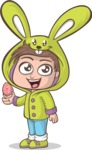 Easter Vectors - Mega Bundle - Little Boy with an Easter Egg