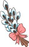 Easter Vectors - Mega Bundle - Pussy Willow Branch
