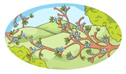 Easter Vectors - Mega Bundle - Spring Branches in Nature