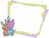 Easter Vectors - Mega Bundle - Spring Flowers Frame