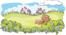 Easter Vectors - Mega Bundle - Spring Illustration