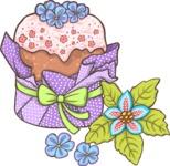 Easter Vectors - Mega Bundle - Wrapped Easter Cake