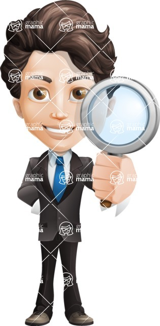 Little Boy Businessman Cartoon Vector Character AKA David - Search
