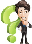 boy vector cartoon character  - Question