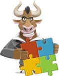 Barry the Bull - Puzzle