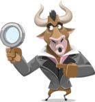 Bull Businessman Cartoon Vector Character AKA Barry the Bull - Search