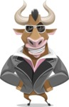 Barry the Bull - Sunglasses