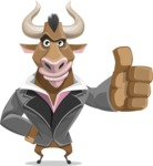 Barry the Bull - Thumbs Up