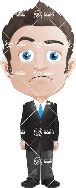 George as Mr. Competent - Sad